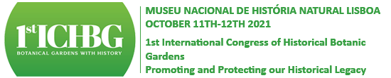 1st International Congress of Historic Botanical Gardens
